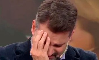 El llanto desconsolado de José Maria Listorti en cámara | Televisión