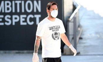 Urgente: se conoció el resultado del test a Lionel Messi | Coronavirus