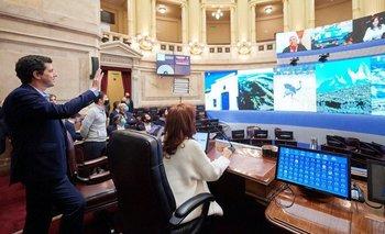 El Senado se prepara para la primera sesión remota | Coronavirus en argentina