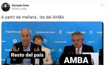 Estallaron los memes tras los anuncios de Alberto   En redes