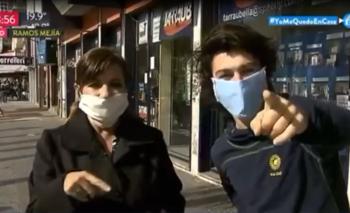 La insólita interrupción en un móvil de TN  | Televisión