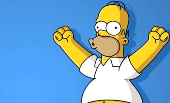 Homero Simpson cumple años y las redes lo festejan   Televisión