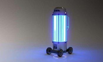¿Cómo funciona el robot argentino que desinfecta subtes? | Tecnología
