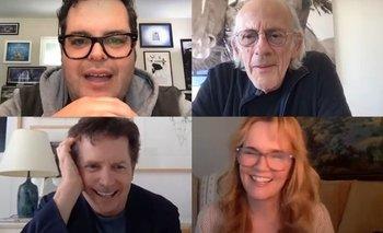 Coronavirus: El elenco de Volver al Futuro tiene la solución    Cine