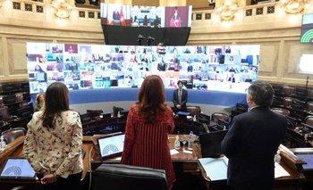 CFK celebró tras la primera sesión virtual en el Senado | Coronavirus en argentina