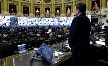 Comenzó con éxito la primera sesión virtual de Diputados | Congreso