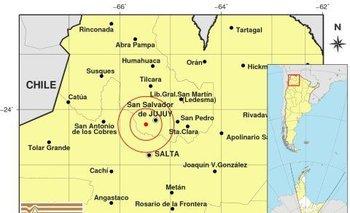 Fuertes terremotos en Jujuy y en San Juan | Fenómenos naturales