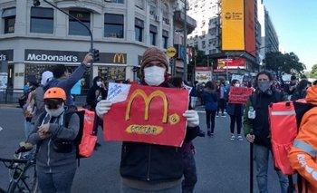Trabajadores precarizados marcharon en cuarentena | Coronavirus en argentina