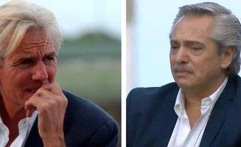 Emotiva despedida de Alberto Fernández a Sergio Denis | En redes