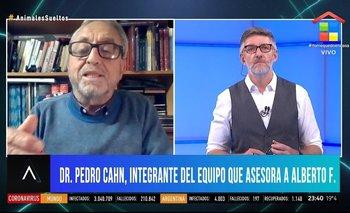 La respuesta de Pedro Cahn a Novaresio que lo dejó mal parado | Vacuna del coronavirus