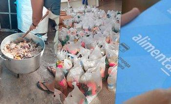 Tarjetas, bolsas y ollas: matar el hambre en días de pandemia   Coronavirus en argentina