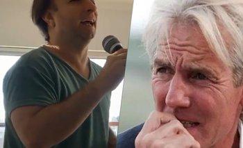 El homenaje de Boggiano a Sergio Denis: fue repudiado en redes | Video