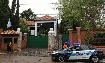 Tiraron una molotov a la Quinta de Olivos: un detenido  | Quinta de olivos