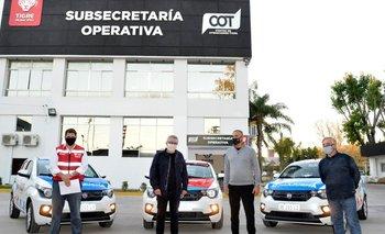 Tigre: Zamora presentó nuevos móviles para el sistema de salud | Municipio de tigre