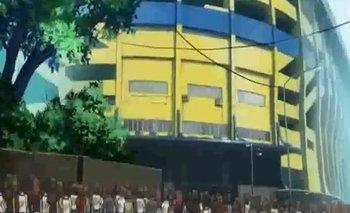 Furor por la aparición de La Bombonera en una serie animé | Boca juniors