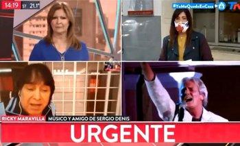 Bochornoso adiós de 'Ricky' Maravilla a Sergio Denis | Video