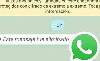 La función de Whatsapp que permite ver mensajes borrados | Whatsapp