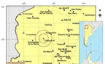 Fuerte sismo en Salta  | Alerta