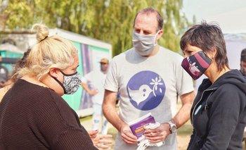 Mayra Mendoza encabezó un nuevo operativo Detectar | Coronavirus en argentina