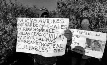 Apareció muerto Luis Espinoza y la Policía está complicada | Derechos humanos