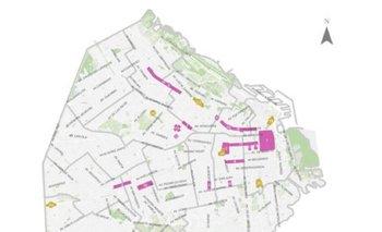 Mapa de la restricción de comercios y circulación en la Ciudad   Ciudad de buenos aires