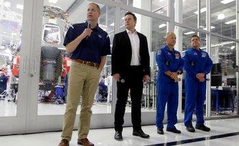 Elon Musk lanzará su primer cohete tripulado junto a la NASA   Espacio exterior
