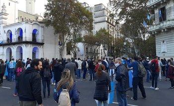 Militantes anticuarentena protestaron en Plaza de Mayo   Coronavirus en argentina