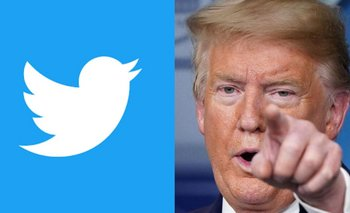 Estalló la pelea: Twitter le contestó a Trump  | Twitter