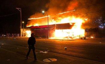 Las diez imágenes más impactante de la revuelta | Violencia en estados unidos
