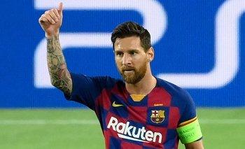 Lionel Messi y su golazo espectacular de tiro libre para Barcelona  | Fútbol