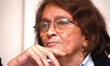 Murió Alcira Argumedo, reconocida política y docente universitaria | Dolor en la política