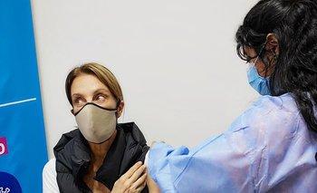 Nequi Galotti se vacunó contra el coronavirus y le agradeció a PAMI    Coronavirus en argentina