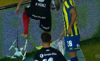 Pablo Pérez destruyó un drone en el clásico Newell's vs.Rosario Central | Fútbol argentino