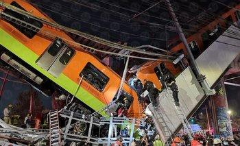 Tragedia en México: se derrumbó un tren; impactantes imágenes | México