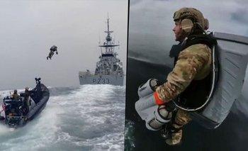 Jetpacks voladores: el video de la nueva tecnología de los marines británicos | Internacionales