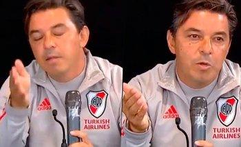 """Gallardo explotó en conferencia de prensa: """"No digas esta pelotudez""""   Televisión"""