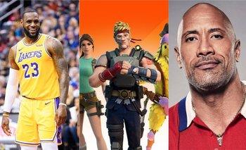 Fortnite: filtran skins de LeBron James y The Rock | Gaming