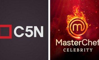 El periodista de C5N que tira indirectas para MasterChef Celebrity   En redes