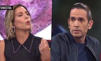 El picante cruce de Ángela Lerena vs. Diego Ramos en TV Nostra | Ángela lerena