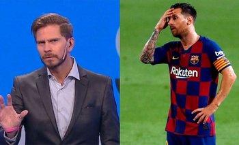 La bomba del Pollo Vignolo sobre el futuro de Messi en el Barcelona | Fútbol