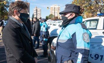 Kicillof entregó más de 70 nuevos patrulleros en la sexta sección electoral | Seguridad