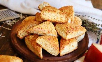 La receta de los scones de queso | Recetas de cocina