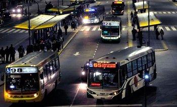 Se solucionó el conflicto y habrá colectivos por la noche en el AMBA | Transporte