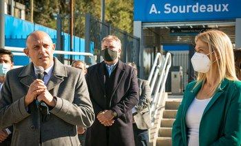 Guerrera inauguró la renovada estación de Sourdeaux del Belgrano Norte | Transporte