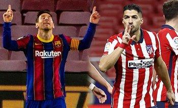 Barcelona - Atlético de Madrid: hora, formaciones y dónde verlo en vivo | Liga española