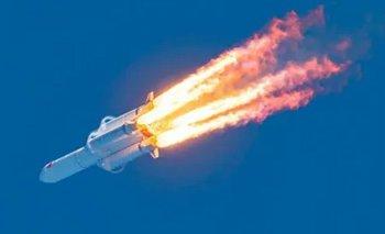 Cohete chino: el impactante video donde cayó la nave | Espacio exterior