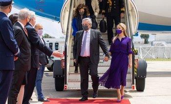 Alberto Fernández arribó a Portugal para iniciar su gira por Europa | Agenda