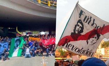 Las banderas de Diego Maradona, un símbolo de lucha y resistencia | Diego maradona