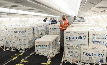 Llegan 500 mil Sputnik V y se alcanzan las 12 millones de dosis | Coronavirus en argentina