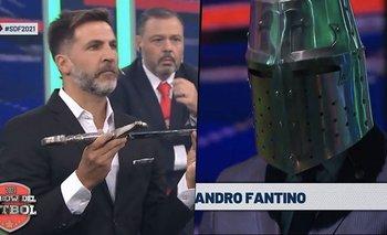 Fantino volvió a El Show del Fútbol y los memes estallaron | Alejandro fantino